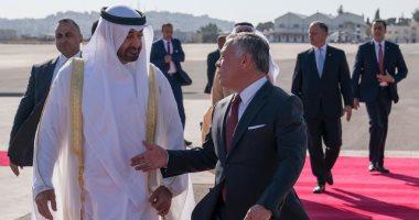 نشاط خارجى للشيخ محمد بن زايد.. يتلقى ملك الأردن ويزور باريس غدا.. صور