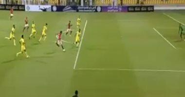 فيديو.. مروان محسن يهدر فرصة تسجيل الهدف الثاني للأهلى أمام الوصل