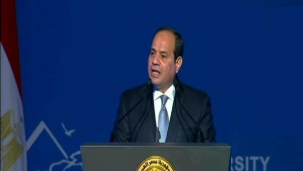 السيسي: مصر تولي أهمية لأثر التنوع البيولوجي في التنمية المستدامة