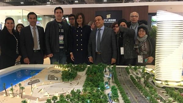 وزيرة الهجرة تكرم الضباط المصابين في لندن.. وتدعوهم لزيارة معرض عقارات مصر