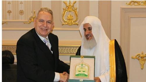 رئيس «القضاء الأعلى» يبحث التعاون مع رئيس محكمة الاستئناف السعودي
