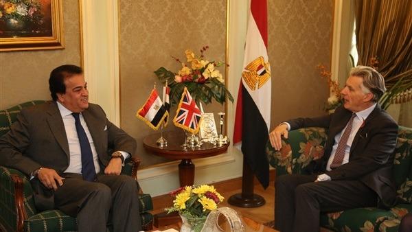 مباحثات مصرية بريطانية لإنشاء منطقة تجارة حرة قريبا