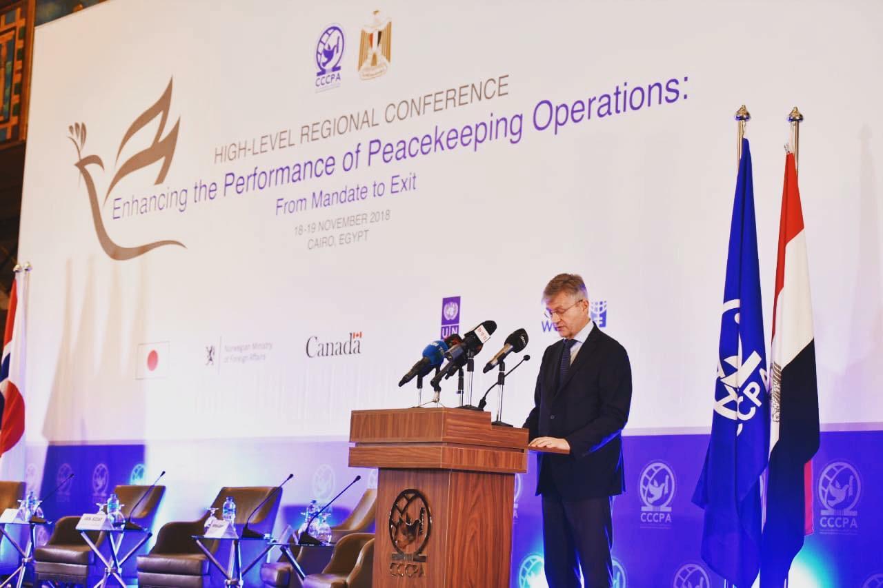 مسئول أممى: نشكر مصر على مساهماتها المتواصلة بعمليات حفظ السلام