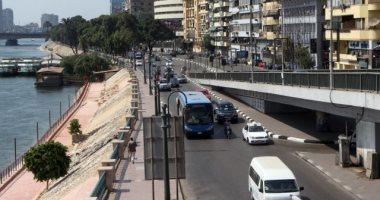 النشرة المرورية.. سيولة فى شوارع وميادين القاهرة والجيزة