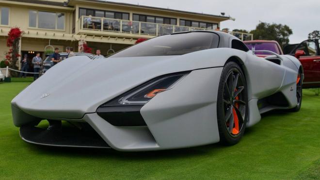 سيارة أمريكية خارقة تنافس «بوجاتي شيرون» (فيديو)
