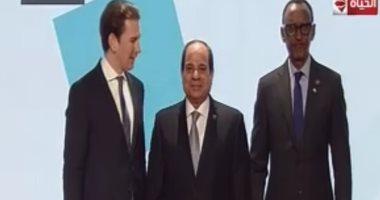 انطلاق فعاليات المنتدى الإفريقى الأوروبى فى فيينا بمشاركة الرئيس السيسى