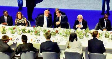 بالصور.. السيسى يحضر مأدبة عشاء مع وفود المنتدى الأوروبى بدعوة من مستشار النمسا