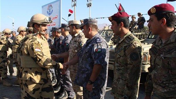 شاهد بالفيديو | تدريبات عسكرية بين مصر والأردن في العقبة 4