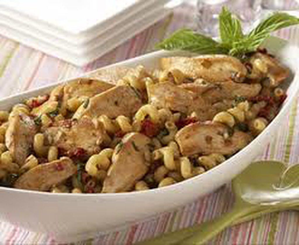 وصفة الباستا بالدجاج