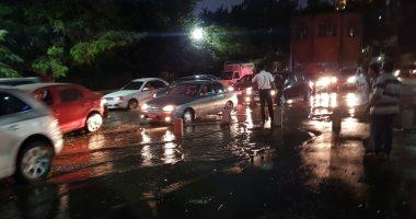 انقطاع المياه عن غرب الإسكندرية بسبب كسر مفاجئ فى ماسورة رئيسية