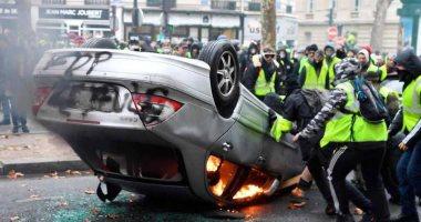 الداخلية الفرنسية: ارتفاع أعداد المعتقلين بالاحتجاجات إلى 287 شخصًا