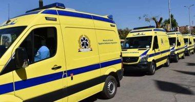 """توزيع 13 سيارة إسعاف مجهزة من """"الإنتاج الحربى"""" على مستشفيات التأمين الصحى"""