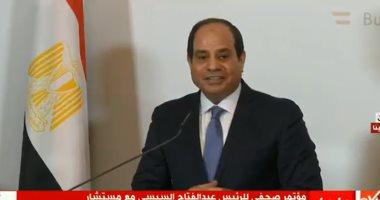 الرئيس السيسي: زيارتى للنمسا نقطة انطلاق لمزيد من العلاقات بين البلدين