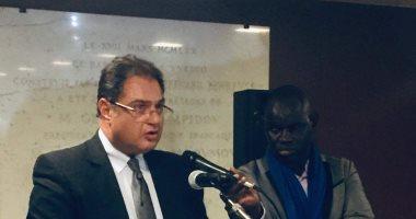 مشاركة سفير مصر فى باريس فى حفل نهاية العام للمجموعة الأفريقية باليونسكو