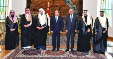 السيسى يؤكد أهمية الارتقاء بقنوات التواصل الشعبية بين مصر والسعودية برلمانيا