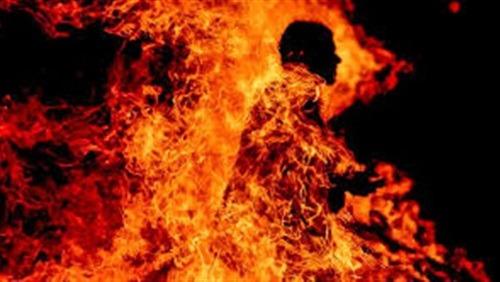 موظف بالأزهر يشعل النيران في نفسه بعد إصابته باكتئاب بسوهاج