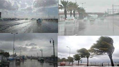 الأرصاد: نشاط للرياح وأمطار غزيرة تضرب البلاد الأيام المقبلة