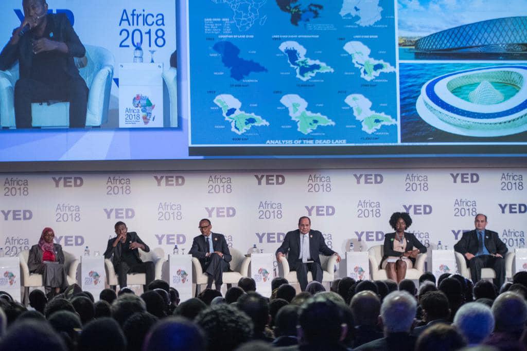 الرئيس السيسى يعرب عن تطلعه لزيادة الاستثمارات بين الدول الإفريقية