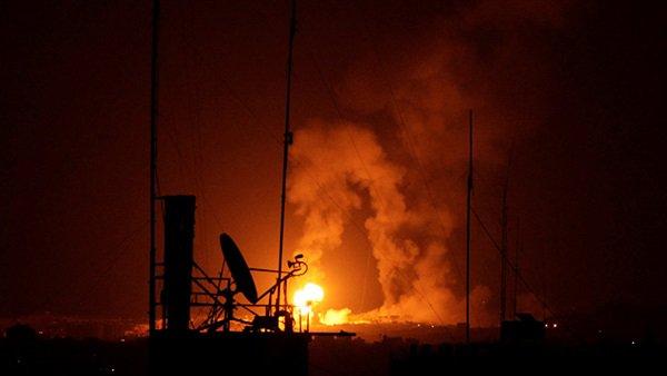إسرائيل تقصف جنوب قطاع غزة