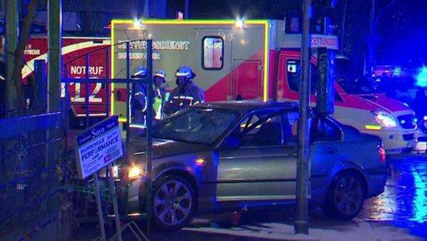 إصابة 5 في حادث دهس بألمانيا