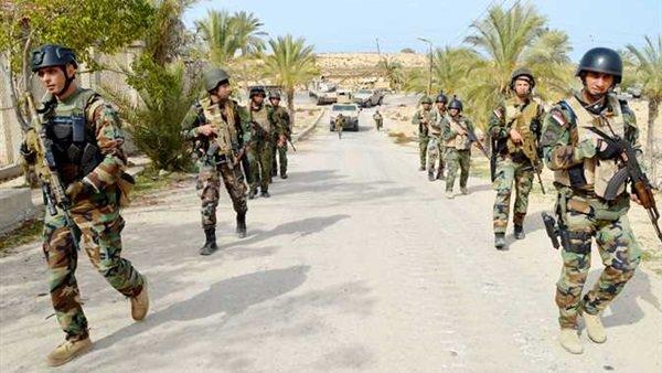 القوات المسلحة: مقتل 27 تكفيريا وتفجير 344 عبوة ناسفة في سيناء