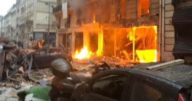 انفجار داخل مطعم كنتاكى بولاية كارولينا الشمالية فى أمريكا