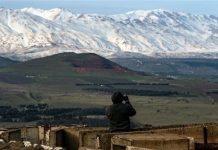 جندي إسرائيلي في هضبة الجولان المحتلة - أرشيفية