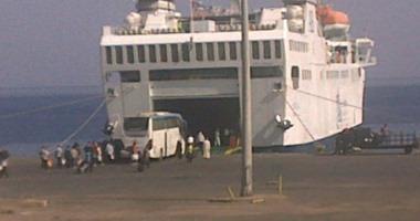 إعادة فتح ميناء نويبع البحرى بعد تحسن الأحوال الجوية