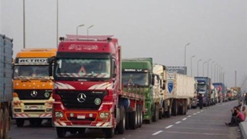 منع النقل الثقيل بمدخل «الإسكندرية الصحراوي» من 6 صباحا لـ12 منتصف الليل