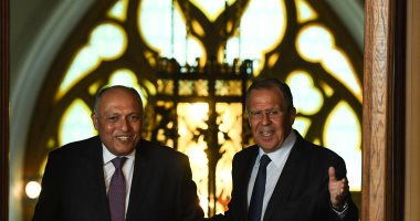 وزيرا خارجية مصر وروسيا يبحثان سُبل الدفع بالحل السياسى للأزمة السورية