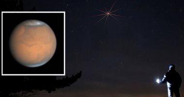 القمر قرب الكوكب الأحمر اليوم فى ظاهرة مشاهدة بالعين المجردة بقبة السماء