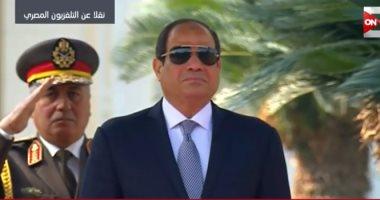 """الرئاسة: مباحثات السيسي و""""سيلفا كير"""" تناولت ملفات حوض النيل والقرن الأفريقى"""