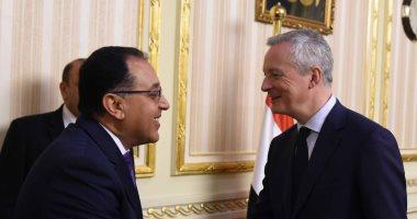 رئيس الوزراء يوجه بتيسير الإجراءات أمام الاستثمار الفرنسي بمصر