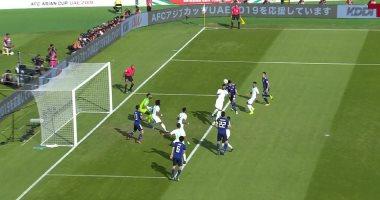 تومياسو يسجل أول أهداف اليابان ضد السعودية