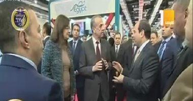 الرئيس السيسي يفتتح معرض الكتاب في دورته الـ50 (فيديو)