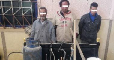 سقوط 3 أشخاص أثناء التنقيب عن الآثار داخل عقار فى 15 مايو