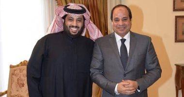 تركى آل الشيخ: مصر أمن واستقرار وازدهار فى عهد الرئيس السيسى