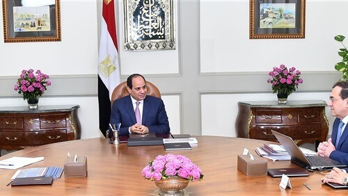 تفاصيل اجتماع السيسي مع وزير البترول بحضور رئيس الحكومة
