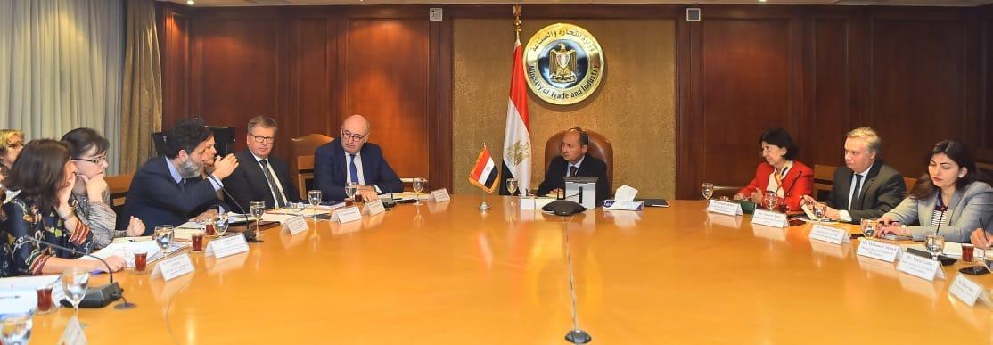 وزير التجارة: نُجهز لحوار مصرى أوروبى لدعم التعاون فى الاستثمار