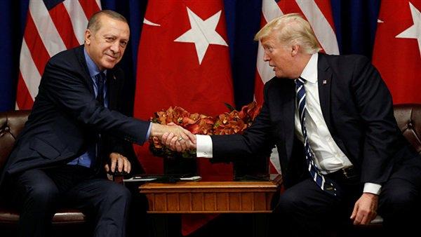 اتصال هاتفي بين الرئيسين الأمريكي والتركي حول سوريا