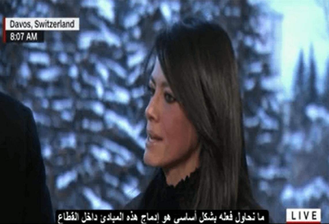 """حوار وزيرة السياحة """"رانيا المشاط """" مع قناة """"CNN"""" الأمريكية لتنشيط السياحة (فيديو مترجم)"""