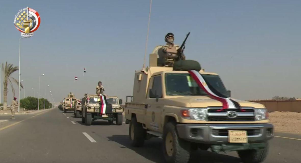 استعدادات القوات المسلحة لتأمين احتفالات 25 يناير والشرطة