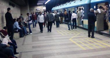 """""""مترو الأنفاق"""": إعادة تشغيل محطة المرج الجديدة المطورة بعد إغلاقها 8 شهور"""