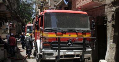 السيطرة على حريق نشب داخل كشك فى المقطم دون إصابات