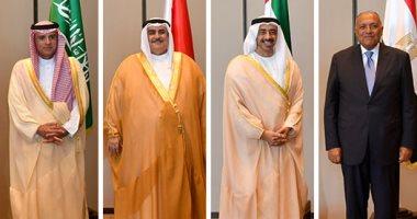 سامح شكرى: استعادة علاقات الرباعى العربى بقطر مرتبط بتغيير الدوحة لمنهجها