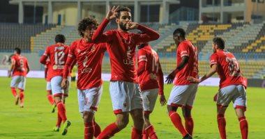 عمرو السولية يسجل هدف الأهلى الأول أمام سيمبا بالدقيقة الثالثة