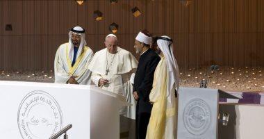 بن زايد: كنيسة البابا ومسجد الطيب منارتان لإعلاء قيم التسامح فى الإمارات