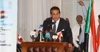 """وزير التعليم العالى: """"إيجيبت سات A"""" يخدم مشروعات التنمية والبحث العلمى"""