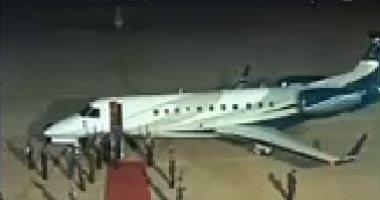 رئيس الاتحاد الأوروبى يصل شرم الشيخ للمشاركة فى القمة العربية الأوروبية