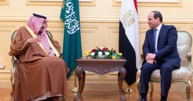 السيسى يؤكد مكانة خادم الحرمين الشريفين لدى مصر.. ويشدد على أهمية التشاور